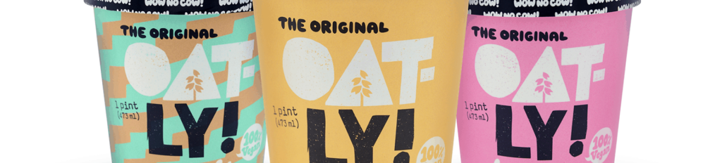 Ice cream packaging-Oatly