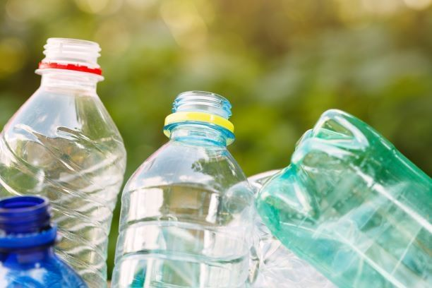 PET plastic waste