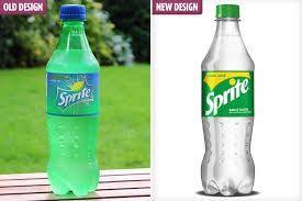plastic Sprite bottles