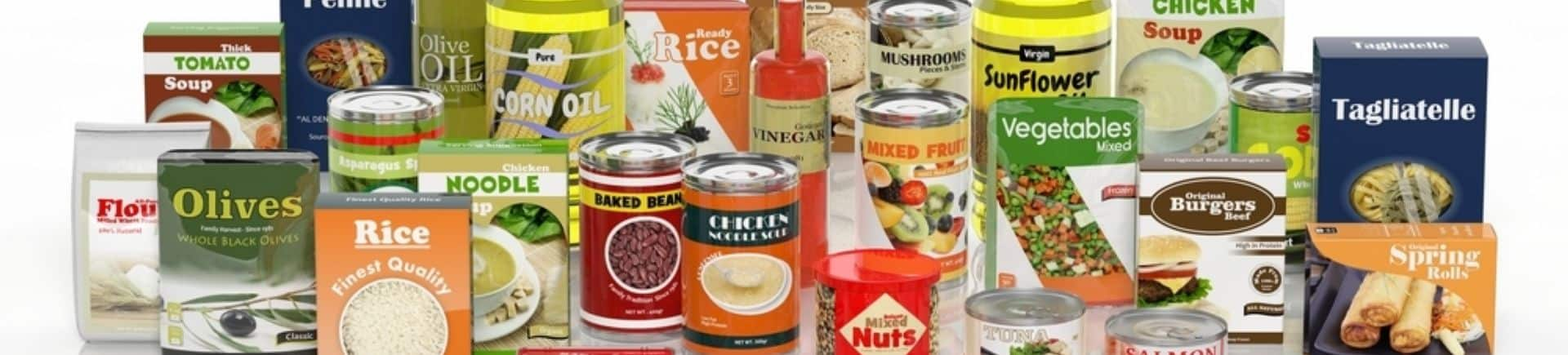 Food Packaging structures