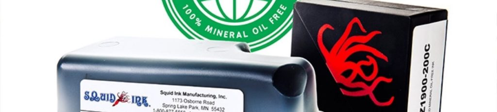 Mineral Oil Free Inks