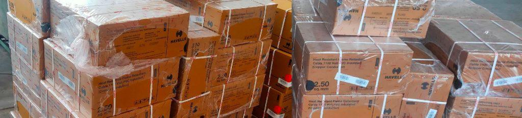 Stelda® case packaging