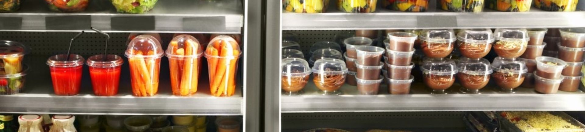 cling film and food packaging