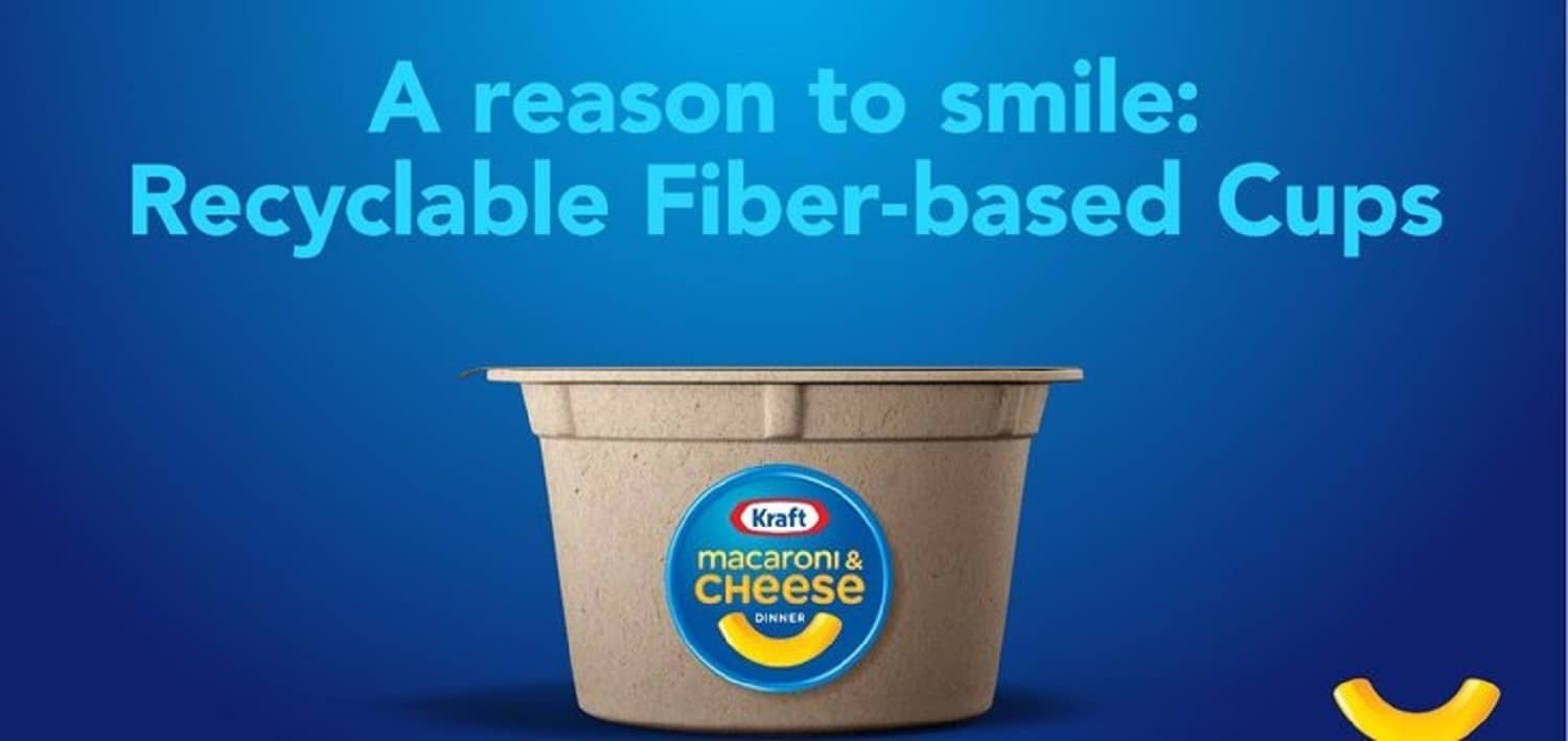 Recyclable Paper Macaroni & Cheese Bowls