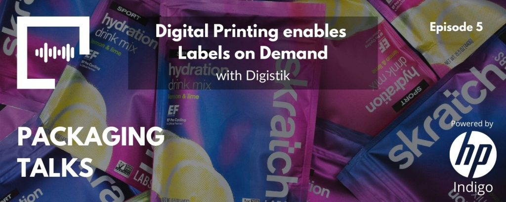 Digital Printing enables Labels on Demand with Digistik