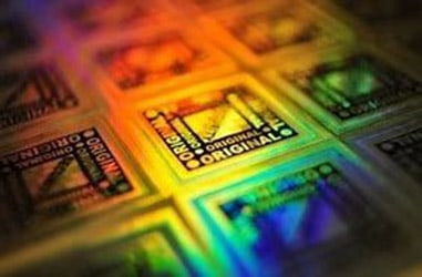 Edible holograms could decorate confectionery and enhance food safety