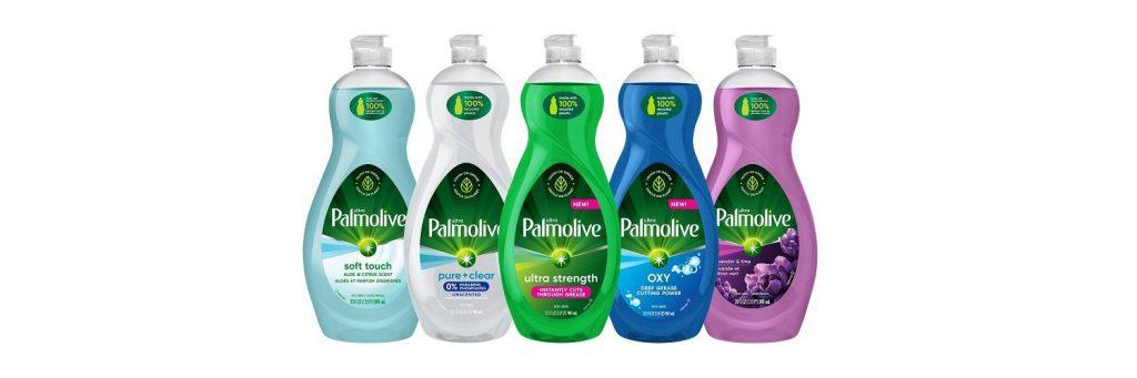PALMOLIVE LAUNCHES 100 PERCENT PCR PLASTIC BOTTLE FOR DISH SOAP RANGE