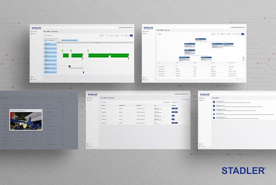 Stadler Service Data Cloud