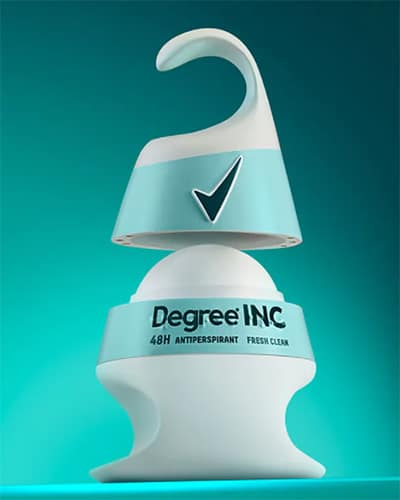 Unilever Degree Inclusive Deodorant