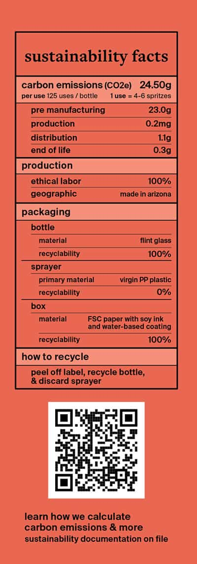 carbon labels