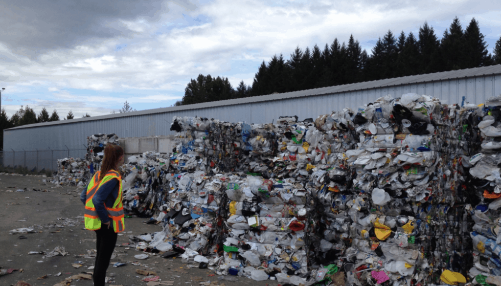Recyclable versus Recycling