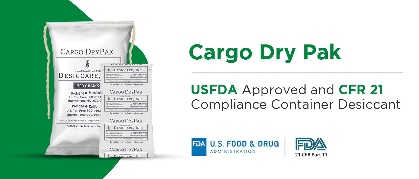 Cargo Dry Pak by Sorbead India