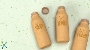 We're creating the world's first paper-based laundry detergent bottle