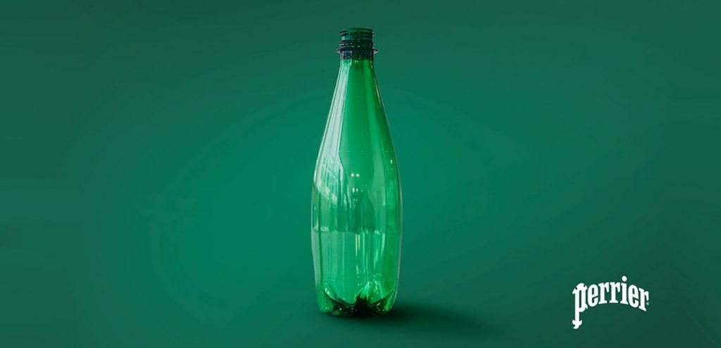 Nestlé unveils Perrier® water bottles created by ground-breaking recycling technology
