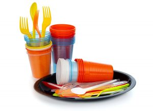 For which plastic products is biodegradation a viable end-of-life option?
