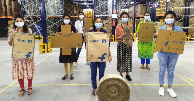 Flipkart achieves milestone of 100% single-use plastic elimination packaging throughout its own supply chain