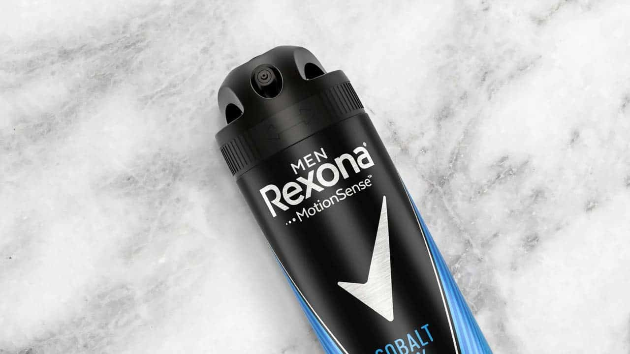 Recycled plastic used in Dove and Rexona deodorant packaging