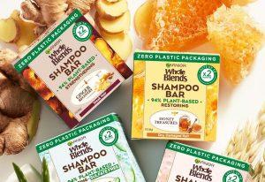 Garnier Whole Blends Shampoo Bars