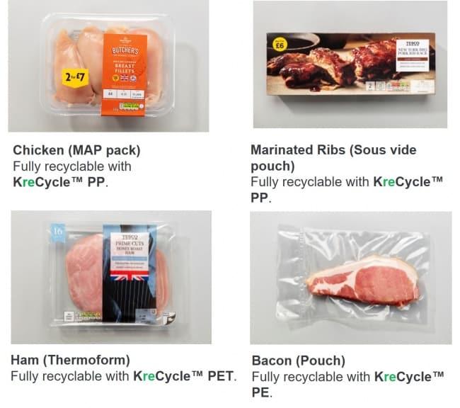Chicken, Marinated Ribs, Ham, Bacon
