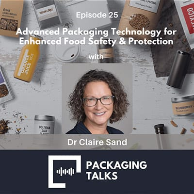 EP 25 - Packaging Talks with Claire Sand